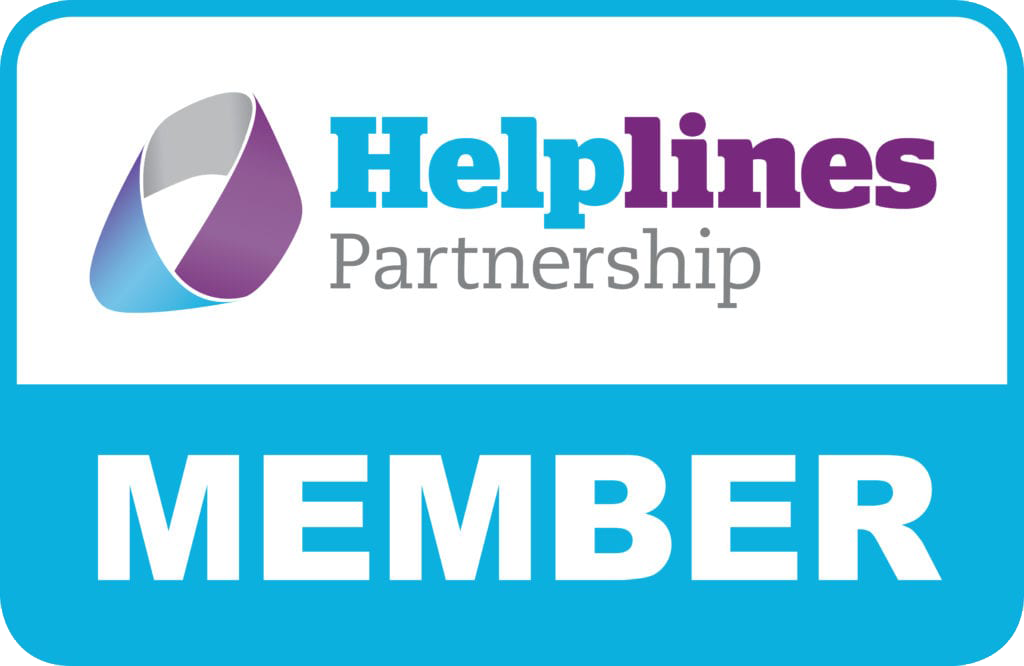 Helplines partnership member logo